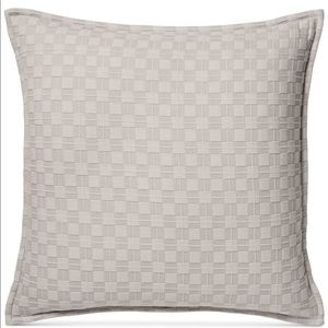 Hotel Collect Diamond Embroidered Euro Pillow Sham